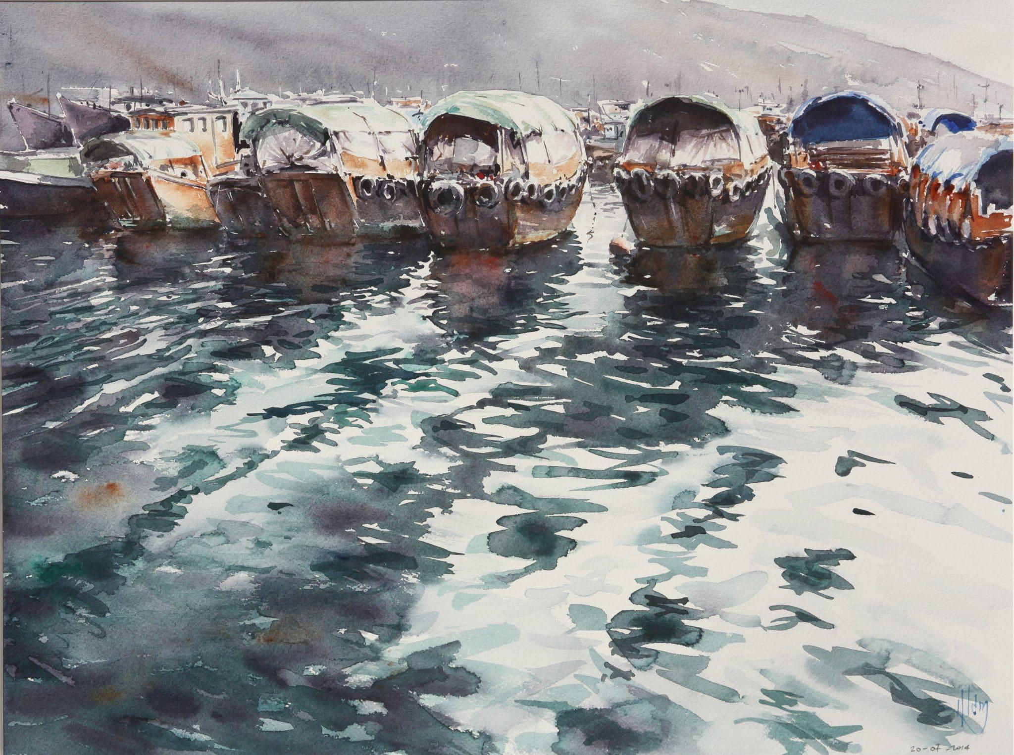 Hong Kong Le Port - 46x61cm