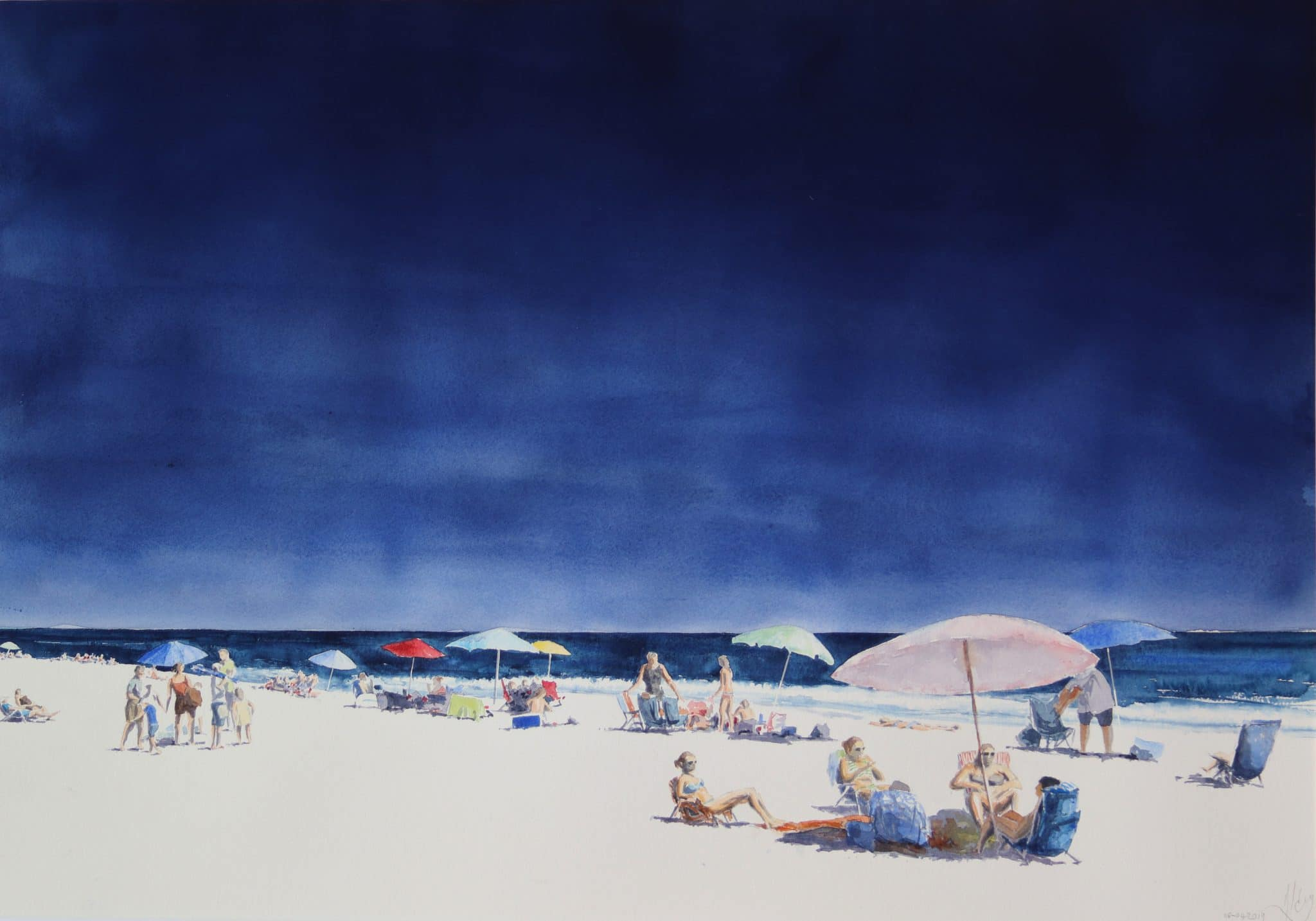 Plage de Chincoteague 5 - 75x105cm
