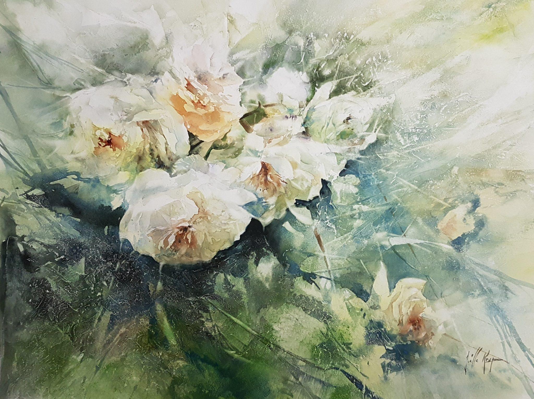 Musique florale - 60x80cm