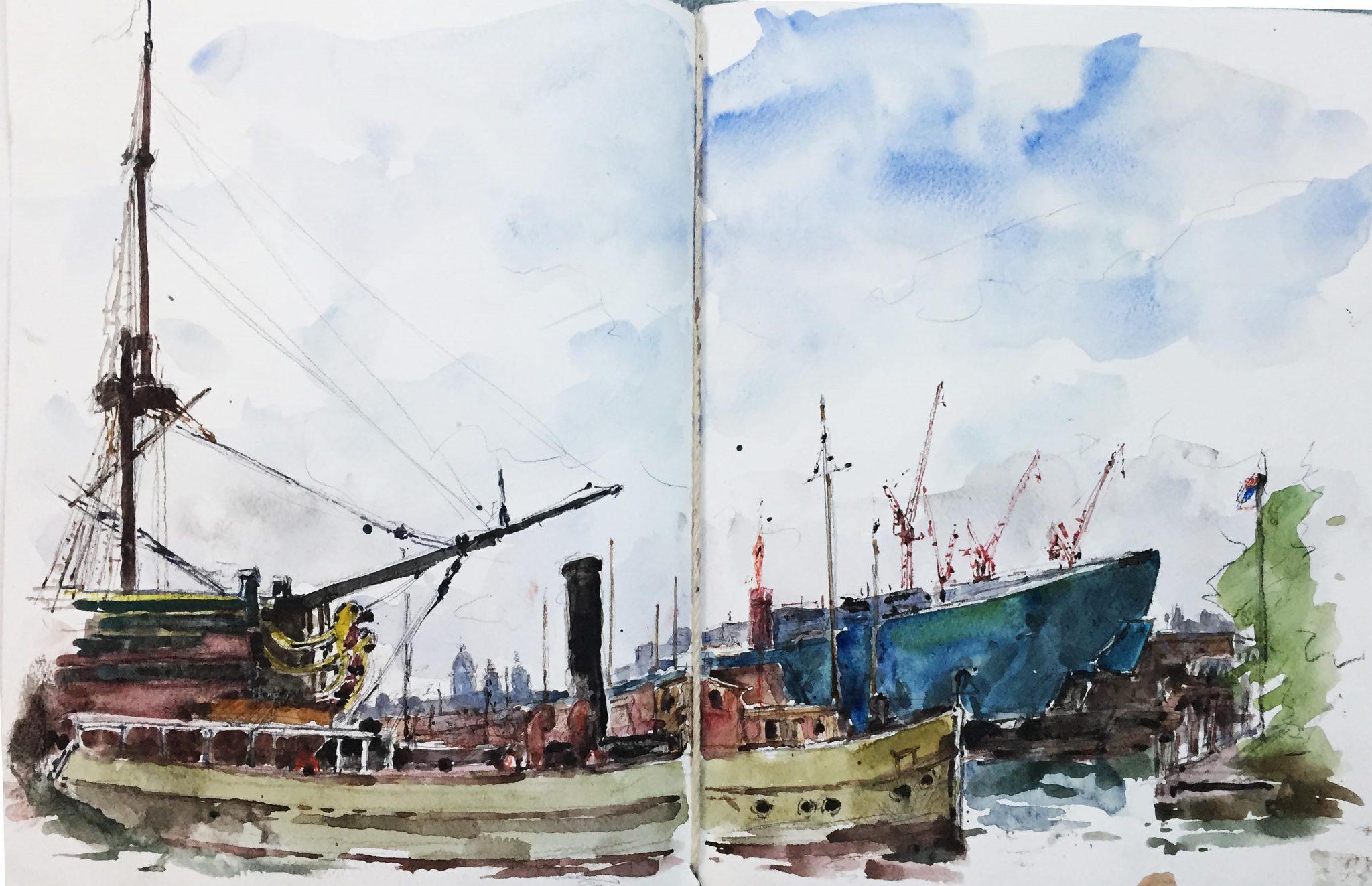 Amsterdam 1 - 32x49cm
