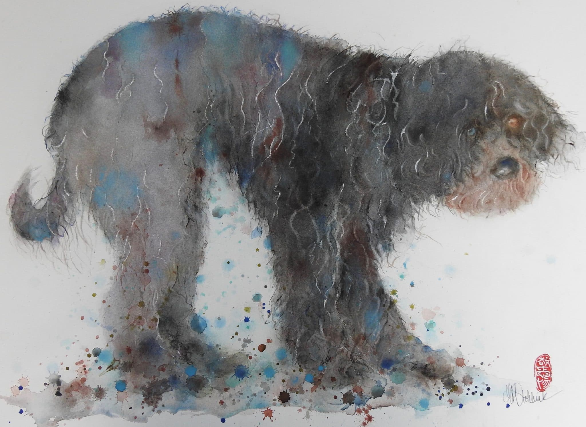 Doggy Does - 55x75cm
