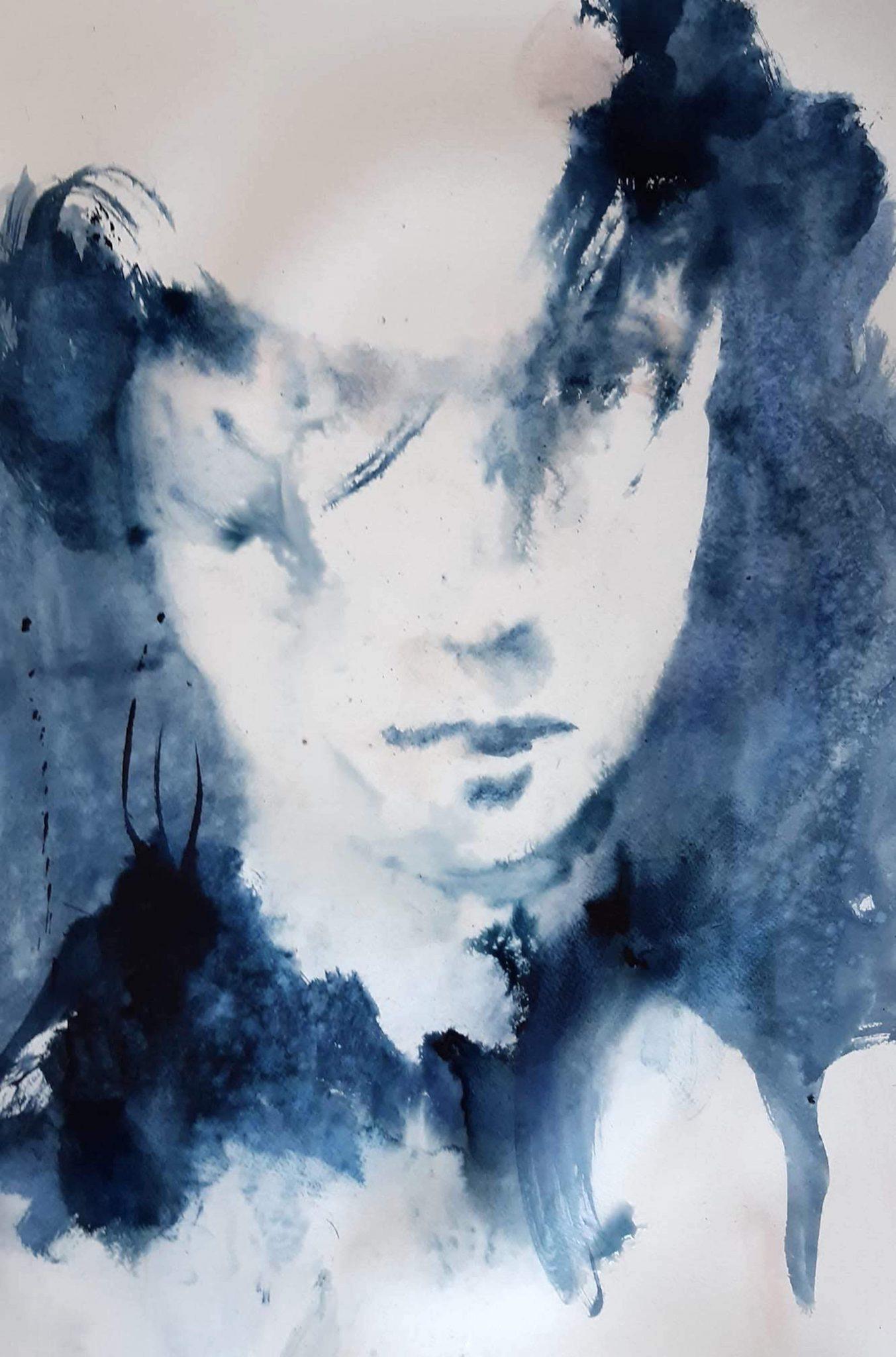 Blueface -65x51cm