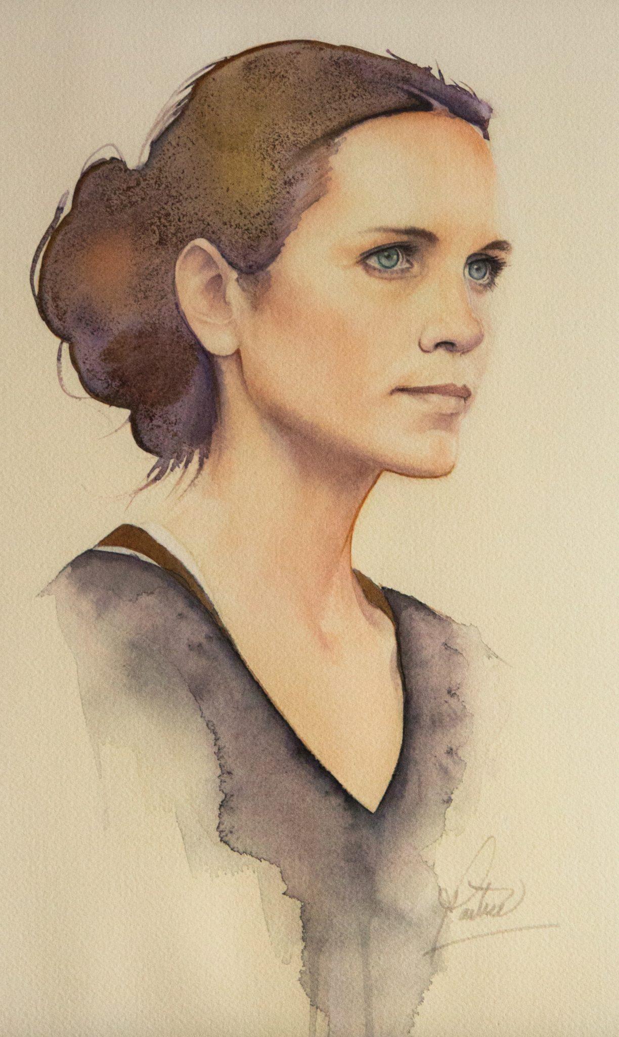 Portrait - 27x40cm