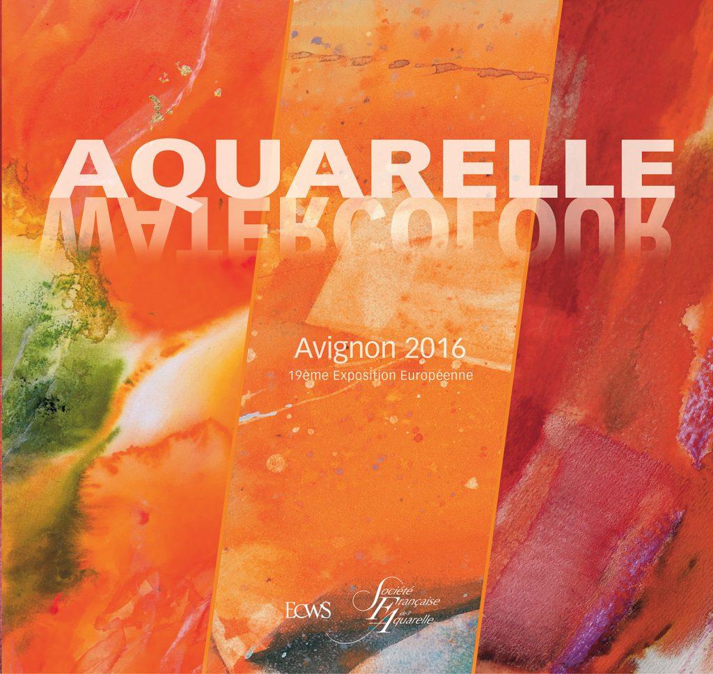 1ère de couverture livre SFA de l'exposition européenne à Avignon en 2016
