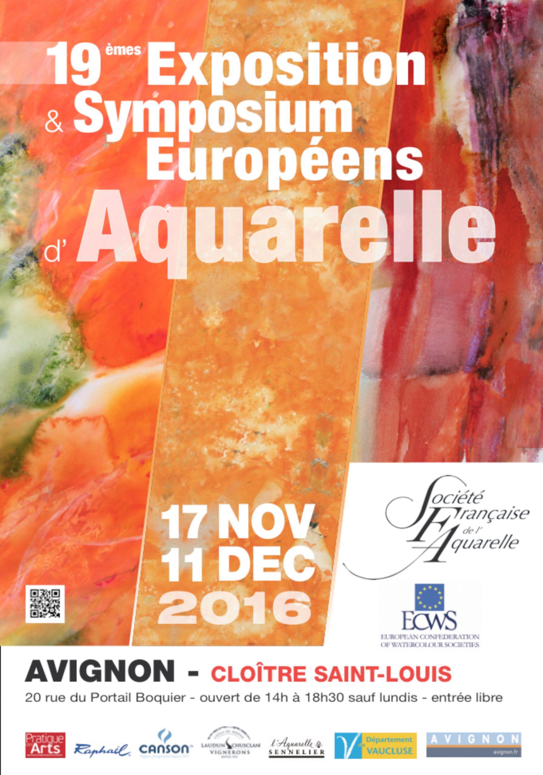 19ème Exposition Européenne d'Aquarelle