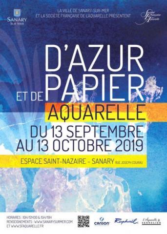 D'AZUR ET DE PAPIER - Sanary-sur-Mer 2019