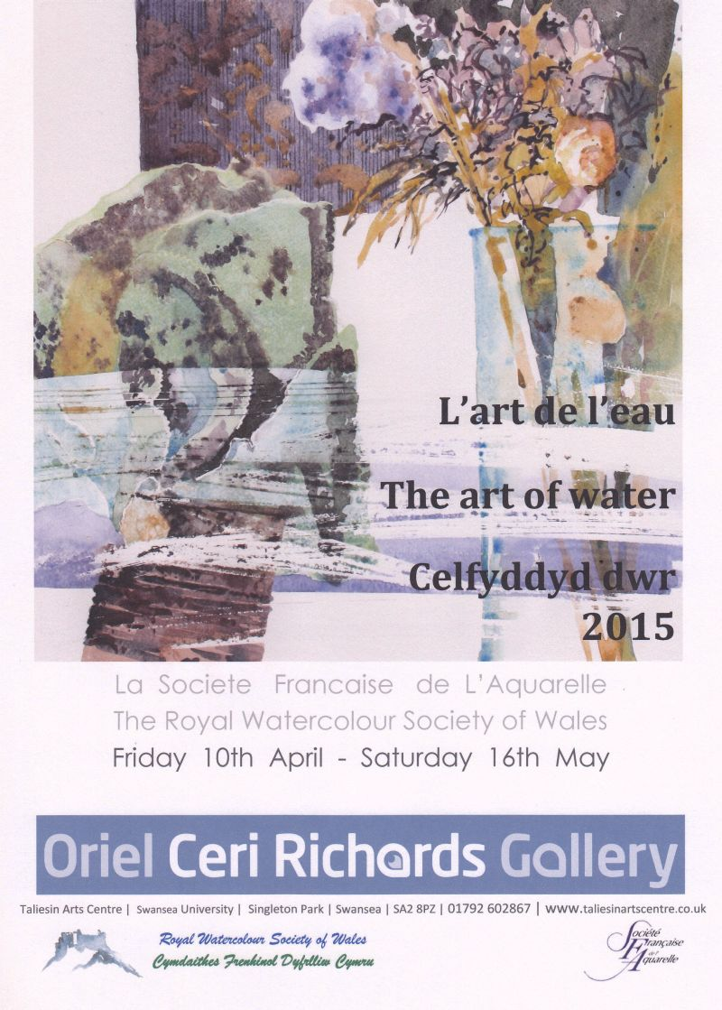 La ROYAL WATERCOLOUR SOCIETY of WALES invite la SFA
