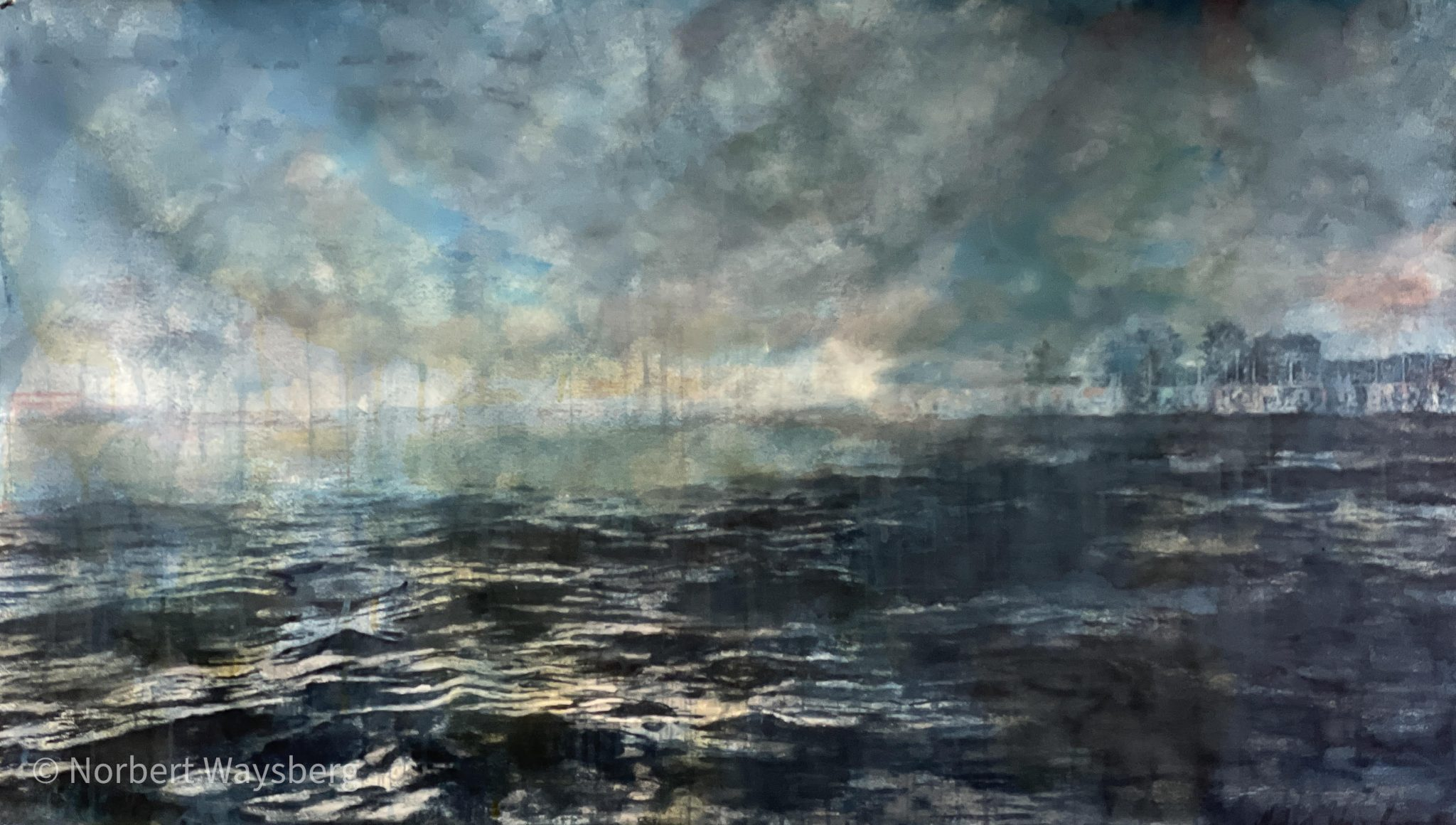 The Storm Venice - 81x140cm