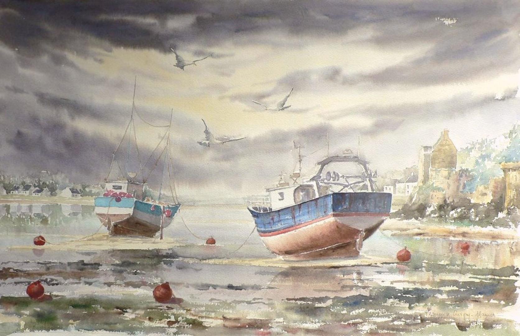 """""""Le port d'échouage du Conquet"""""""