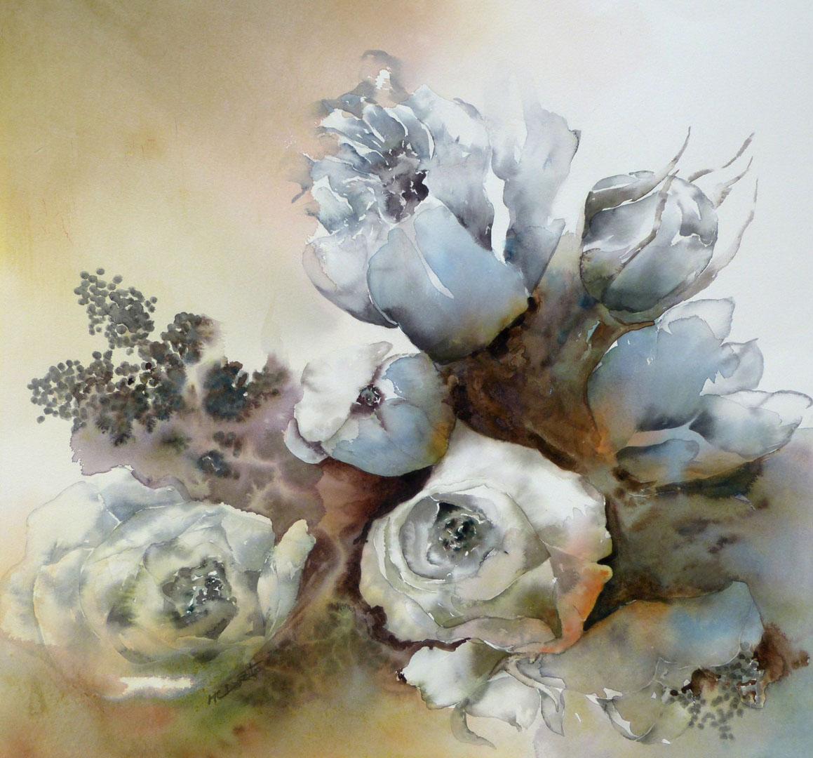 """""""Roses poudrées"""""""