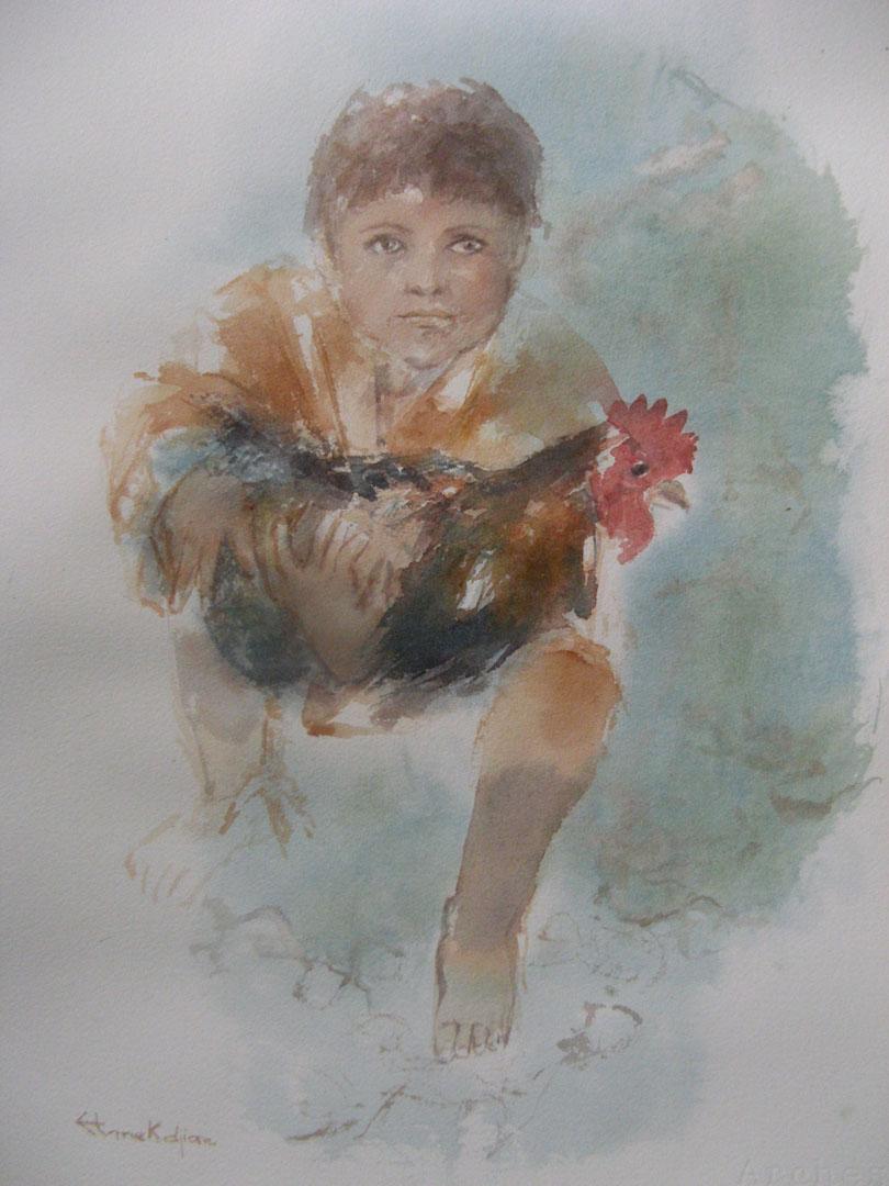 """""""L'enfant au coq"""""""