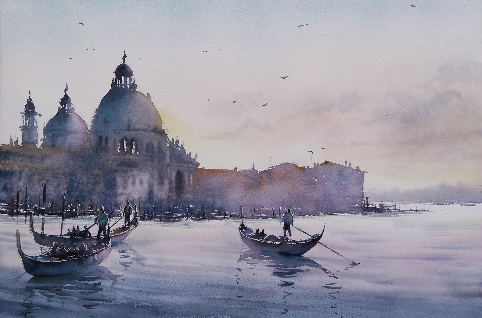 """""""Venise 3 gondoles"""""""